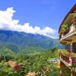 Cảnh Đẹp Nhìn Từ Phía Sau Khách Sạn Châu Long 2 Sapa