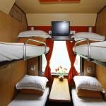 Tau green train express cabin